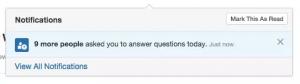 Beantwortungsanfrage auf Quora